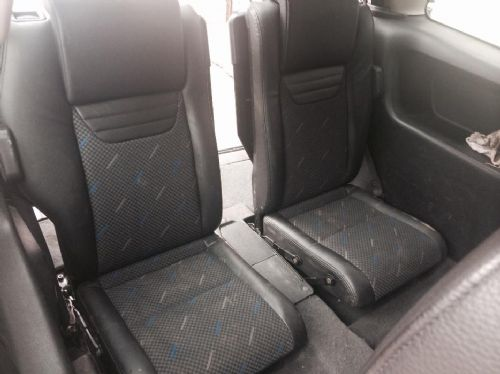 ZAFIRA GSI RECARO HALF LEATHER INTERIOR REAR FOLDING BOOT SEATS,PAIR,FACELIFT TYPE